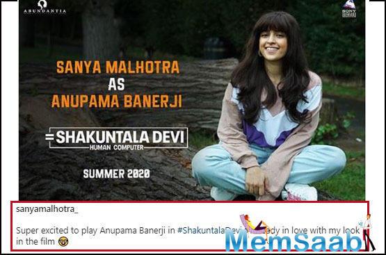Sanya Malhotra reveals she didn't like her performance in THESE films