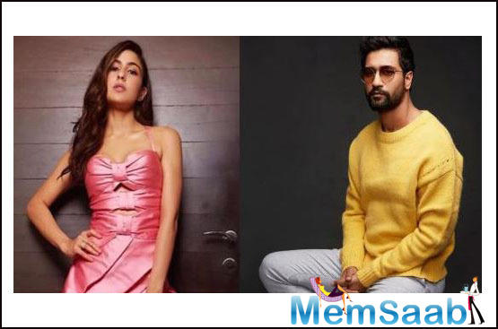 Vicky Kaushal and Sara Ali Khan will be seen in Anees Bazmee's next directorial