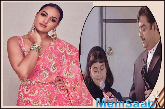Sonakshi Sinha looks unrecognisable in this throwback picture with father Shatrughan Sinha