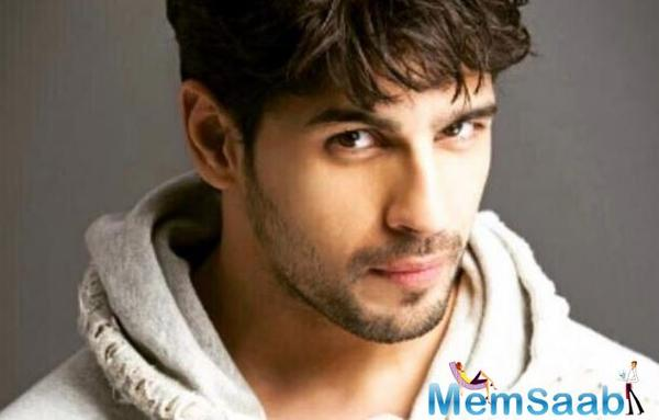 Sidharth Malhotra : As an actor, my aim is to break the mould and bring something exciting to the table