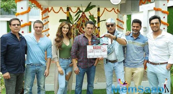 Superstar Salman Khan has begun shooting for Prabhu Deva's Radhe, in which the actor will play the role of a cop.