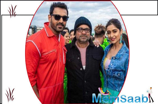 Ileana D'Cruz has been paired with John Abraham in Anees Bazmee's Pagalpanti. It's her first film with the actor, who had previously offered her films from his production company.