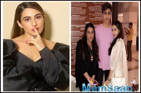 Sara Ali Khan on being a star kid, 'People are waiting for us to make a mistake'