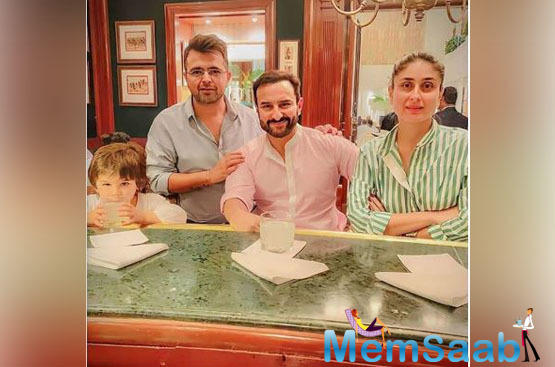 The father-son duo stayed in Delhi after a week, after which Taimur and Kareena returned to the bay. The little nawab looked like a bundle of joy when he was clicked by the photographers at the airport.