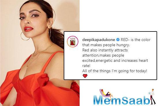 Ranveer Singh has the cheekiest comments for Deepika Padukone's red-hot looks