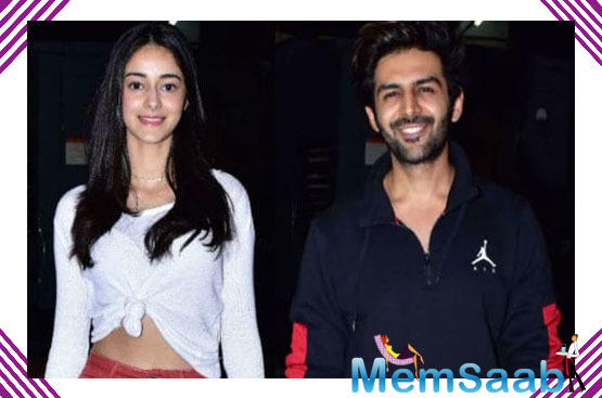 Ananya Panday says she and Kartik Aaryan are good friends and understand each other well!