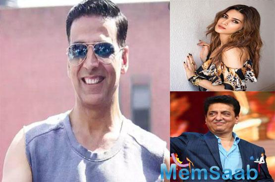 Akshay Kumar and Kriti Sanon team up for 'Bachchan Pandey'