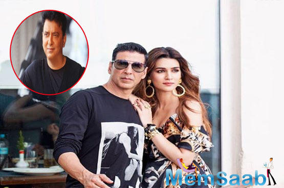 Sajid Nadiadwala, who had launched her and Tiger Shroff in the 2014 action-romance film, 'Heropanti', is happy to team up with his protégée again.