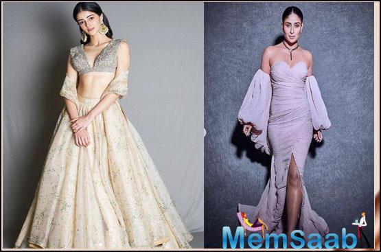 Ananya Panday says she will wear only Kareena Kapoor Khan's designer lehenga for her wedding!