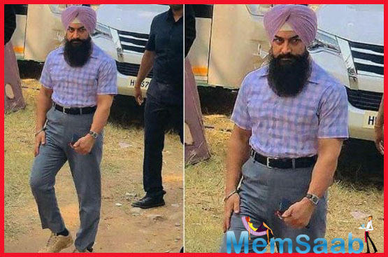 Aamir Khan reveals extraordinary look from the much-awaited 'Laal Singh Chaddha'