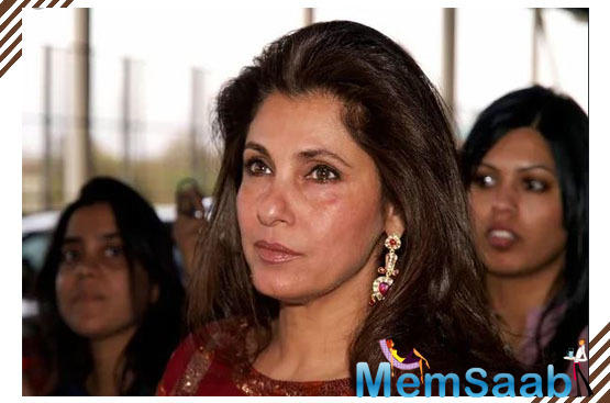Dimple Kapadia dismisses heath rumours; says ''I'm Alive And Kicking''