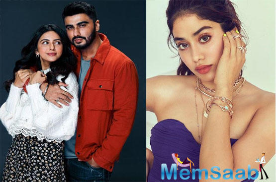 Here's What Janhvi Kapoor feels about brother Arjun Kapoor's chemistry with Rakul Preet Singh