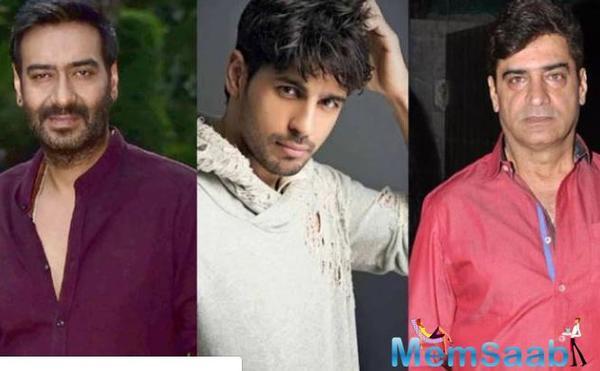 Ajay Devgn-Sidharth Malhotra for Indra Kumar's next?