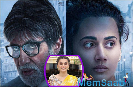 Taapsee Pannu: Had more scenes in Badla than Big B yet it's called his film