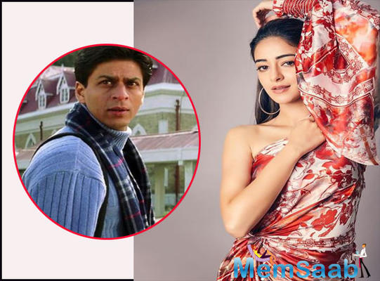 Ananya Panday takes inspiration from SRK's 'Main Hoon Na' for her train scene in 'Pati Patni Aur Wohi'