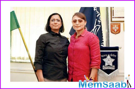 Mardaani 2: Rani Mukerji meets the real hero DGP Archana Tyagi