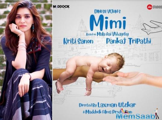 It is not a preachy and serious film: Kriti Sanon talks about her upcoming project 'Mimi'