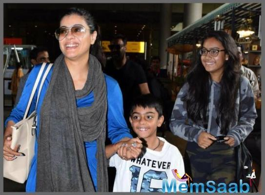 Kajol recently revealed that she asks for 'hisaab' of money when her kids Nysa Devgan and Yug Devgan go out. She also spoke about them getting clicked by the shutterbugs and being a part of unnecessary limelight.