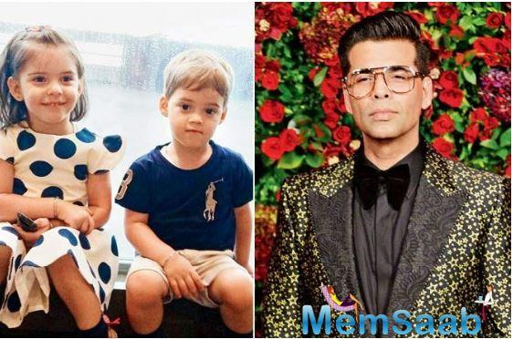 When Karan Johar distracted son Yash Johar, while the little one was running in the race