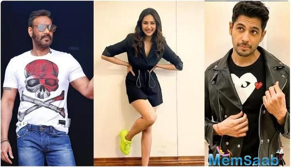 Rakul Preet Singh to reunite with Ajay Devgn and Sidharth Malhotra for this film