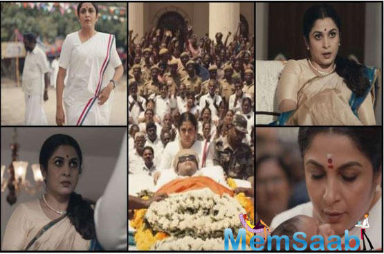 While Kangana Ranaut is busy giving shape to Thalaivi — the biopic on the late J Jayalalithaa, South star Ramya Krishnan appears to have beaten her to the finish line.