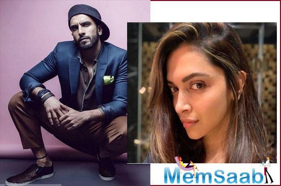 Ranveer Singh reacts to Deepika Padukone's chopped hair: Maar do mujhe