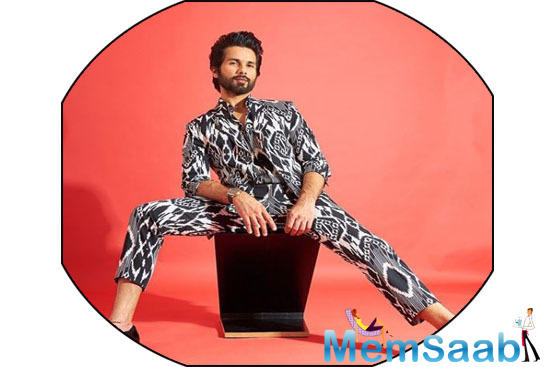Shahid Kapoor, who next will be seen on screen in the Bollywood remake of the Telugu hit Jersey, says he cried four times after watching the original film because he could relate to the central character of the story, who is close to his age.