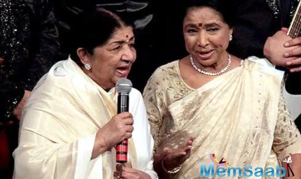 Asha Bhosle on sister Lata Mangeshkar: Her songs came back rushing to me