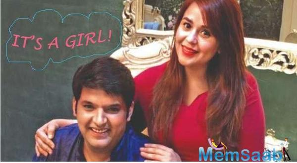It's a girl! Kapil Sharma and Ginni Chatrath welcome their first child with a heartfelt post on social media
