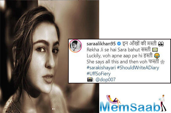 Sara Ali Khan calls herself 'sasti' Rekha as she channels her inner 'Umrao Jaan' in a mesmerizing shoot