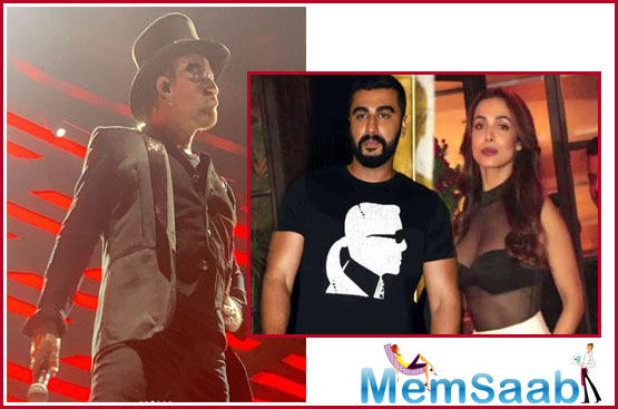 Arjun Kapoor posts a hilarious comment on girlfriend Malaika Arora's U2 concert pictures and it's savage!