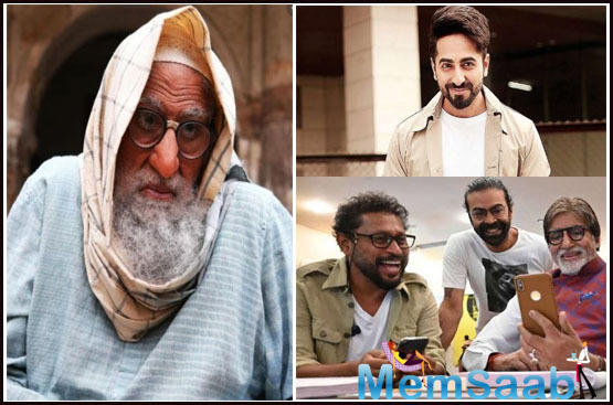 The versatile actor Ayushmann Khurrana and the legendary star Amitabh Bachchan will be seen sharing the screen space for the first time in the film.