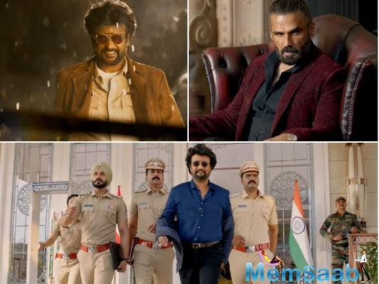 The much-awaited and anticipated trailer of Rajinikanth starrer Darbar is out now.