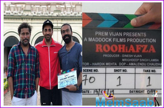 Rajkummar Rao's 'RoohiAfza' release delayed to avoid clash with Ayushmann's Gulabo Sitabo?