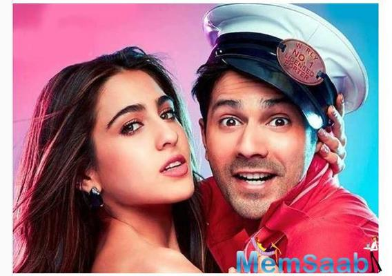 Varun Dhawan on Sara Ali Khan: We get mad when we are together