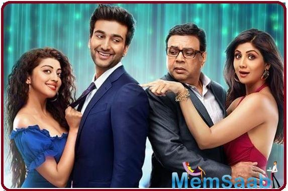Hungama 2 first look poster out; get ready for Shilpa Shetty, Paresh Rawal, Meezaan Jafri, Pranitha Subhash confusion unlimited