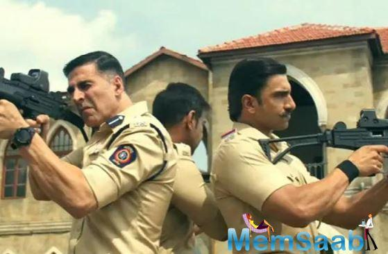 Akshay Kumar who will also be seen in the avatar of a cop in 'Sooryavanshi', shared the teaser on Twitter.