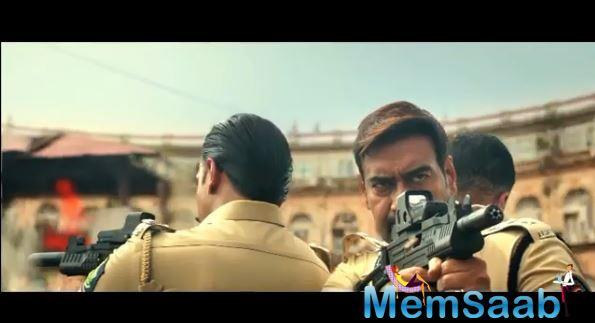 The movie is the fourth addition to filmmaker Rohit Shetty's cop universe. The first two films Singham and Singham 2 featured Ajay Devgn in the role of a cop.