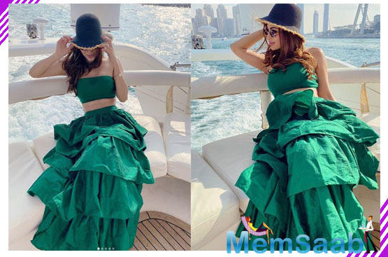 Mouni Roy looks stunning as she shares pictures from her Dubai vacation