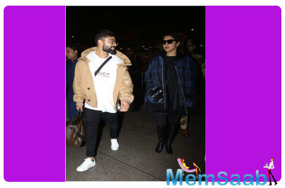 Virat Kohli and Anushka Sharma celebrated New Year's Eve Saif Ali Khan, Kareena Kapoor Khan and Varun Dhawan in Switzerland.