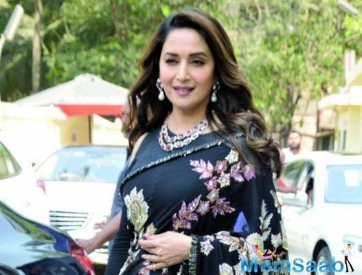 Madhuri Dixit walks out of Tahira Kashyap's film