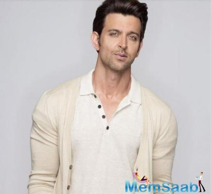 Hrithik was looking at four projects a while back, but none of them has fructified into a film project.