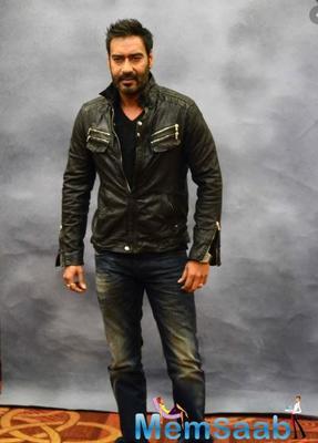 Ajay Devgn looks forward