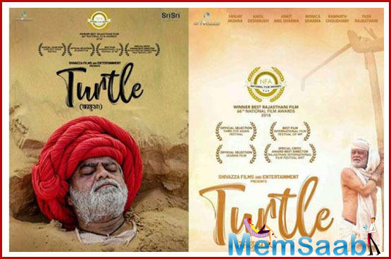 The film deals with the problem of water crisis in the villages of Rajasthan.