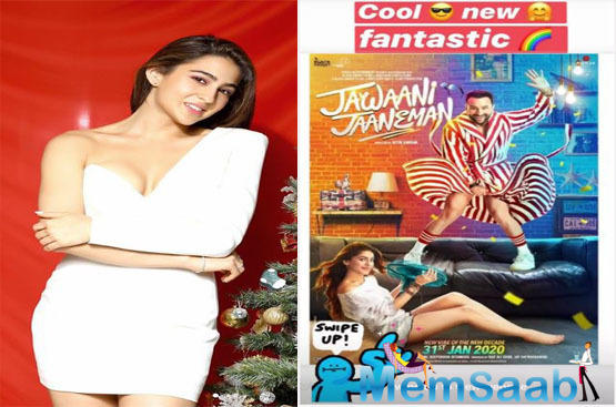 Sara Ali Khan's review on daddy Saif Ali Khan's 'Jawaani Jaaneman' trailer