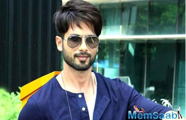 Shahid Kapoor undergoes stitches post 'Jersey' injury, says 'I am recovering fast'