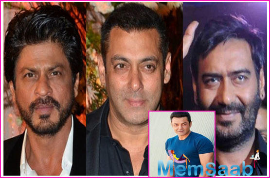 Bobby Deol opens up about his successful peers Shah Rukh Khan, Salman Khan and Ajay Devgn