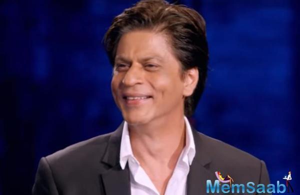 Finally Shah Rukh Khan back to work