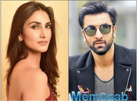 Vaani Kapoor is all praise for her co-star Ranbir Kapoor; says 'your talent is untouchable'