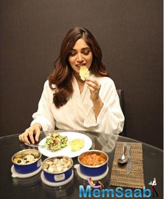 Bhumi Pednekar says she has never consulted any dietician or nutritionist, and she has always followed one rule- eating homemade food.